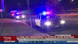 Teenage girl shot in east Austin Sunday night