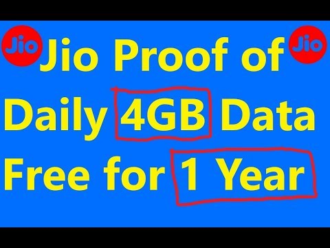 Jio Live Proof of Daily Free 4.5GB Data for 1 Year !! ST Help Giveaway