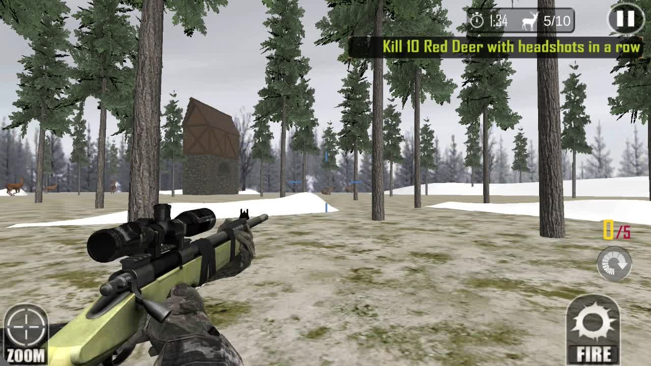 Sniper deer hunting games for iOS & Android