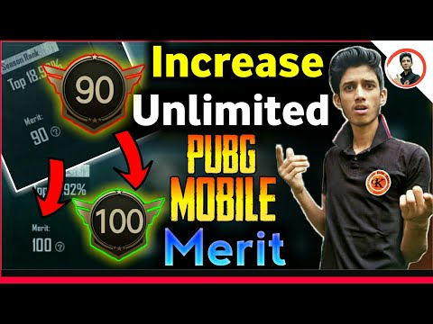 Increase Unlimited Merit In Pubg Mobile // how to increase merit points in pubg fast😱the help tube