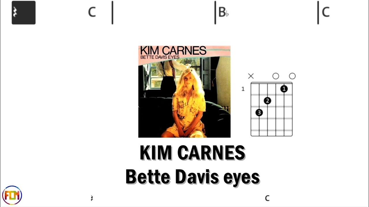 KIM CARNES Bette Davis eyes   Chords & Lyrics like a Karaoke HD