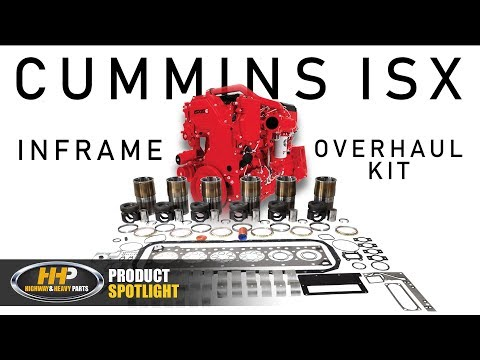 Cummins ISX Diesel Engine Inframe Overhaul Rebuild Kit, Highway And Heavy Parts: Product Spotlight