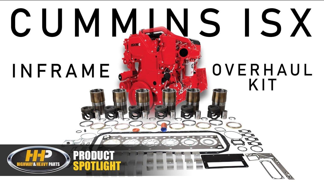 Cummins ISX Diesel Engine Inframe Overhaul Rebuild Kit, Highway and Heavy  Parts: Product Spotlight