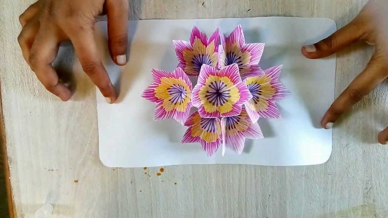 how to make pop up cards at home