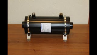 Теплообменник нерж.сталь Runvil Pools AISI 304 28 кВт горизонтальный