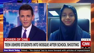 Muslim Teen in Oshkosh is Hero For Her Classmates