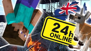 How I Survived 24 Hours on 2b2t AUSTRALIA