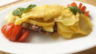 Мясо по французски с картошкой Мясо по французски в духовке Любимый рецепт нашей семьи
