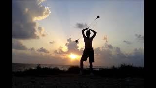 Leading the Sun at Faros Beach. Music: Zymosis - Quiet Sadness.