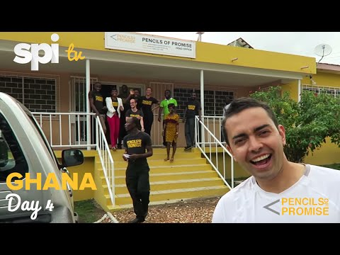 Day 4 in Ghana, Africa - Pencils of Promise E-Reader and WASH Program SPI TV, Ep. 22