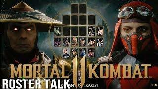 MORTAL KOMBAT 11 - Leaked Kharacters, & Roster Talk