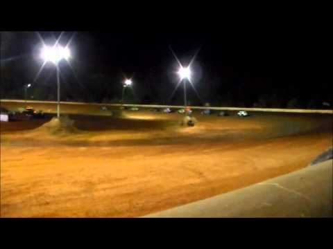 Southern Vintage Racing Association Feature Race 6/13/15 Flomaton Speedway