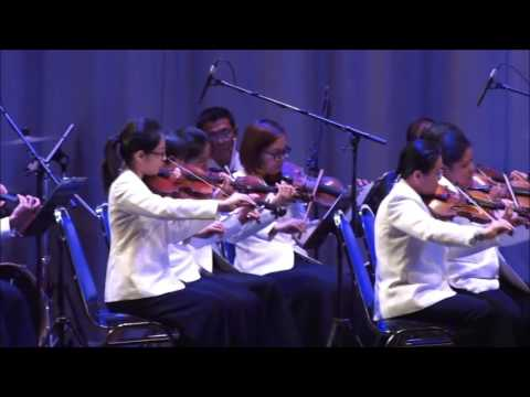 การบรรเลงเพลงสุดใจ และเพลงสายสมร จากโน๊ตเพลงของลาลูแบร์ โดยวงดุริยางค์สากล สำนักการสังคีต กรมศิลปากร