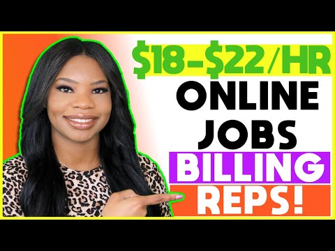 💰 *Apply NOW!!* $18-$22 Hourly Healthcare Work-From-Home Jobs! Company Now Hiring Billing Reps!