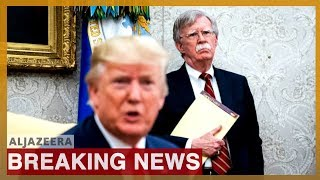 Trump fires John Bolton as national security adviser