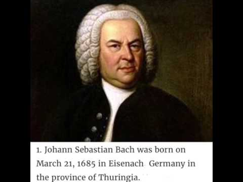 10 Facts about JS Bach