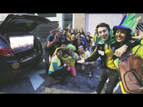 Brazilians Party in the Face of Defeat | Hyundai FIFA World Cup™ Taxi
