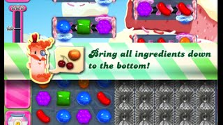 Candy Crush Saga Level 1642 walkthrough (no boosters)