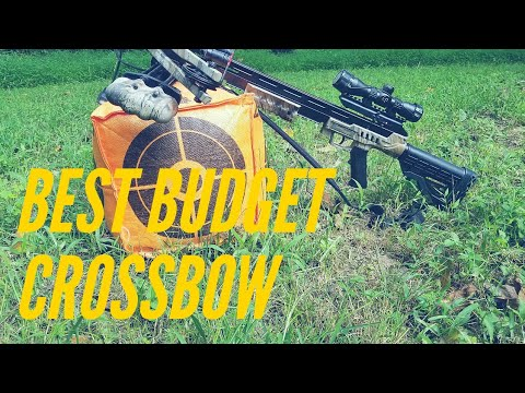The Best Budget Crossbow!! Under $250 Centerpoint Sniper 370 Deer Or Turkey The Sniper Can Do It!