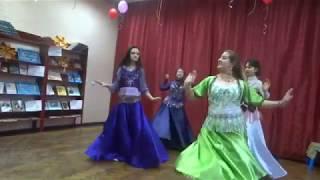 Восточные танцы  на День матери в библиотеке имени И Я Рутмана города Советска
