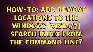 How-to: Add remove locations t…