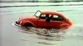 """1972 Volkswagen Beetle Commercial -  """"Floating Beetle"""""""