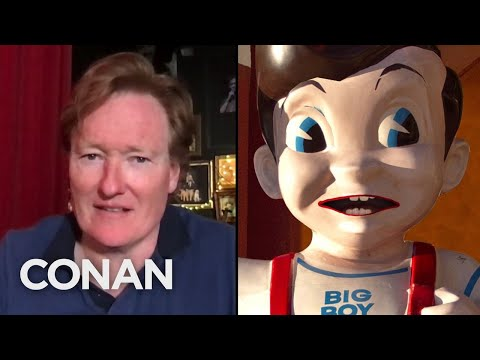 This Bob's Big Boy Statue Is Terrified Of Getting Torn Down - CONAN on TBS