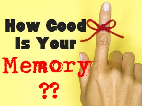 How Good Is Your Memory? Memory Test!