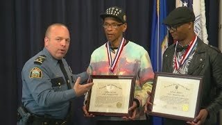 St. Paul Police Honor Men Who Helped Save Suicidal Woman