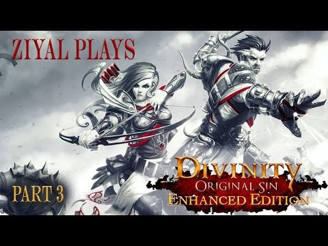Divinity Original Sin Enhanced Edition (Tactician Difficulty) Let's Play Part 3 Omaha Beach
