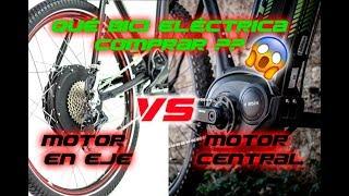Debes Saberlo Antes De Comprar una Bici Eléctrica -  Motor Hub VS Motor Central