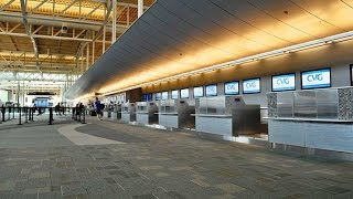 Cincinnati Airport Tour Terminal A (HD)