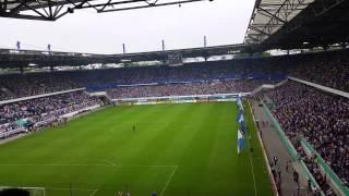 Duisburg gegen Schalke: Hymne, Choreo & Pyro