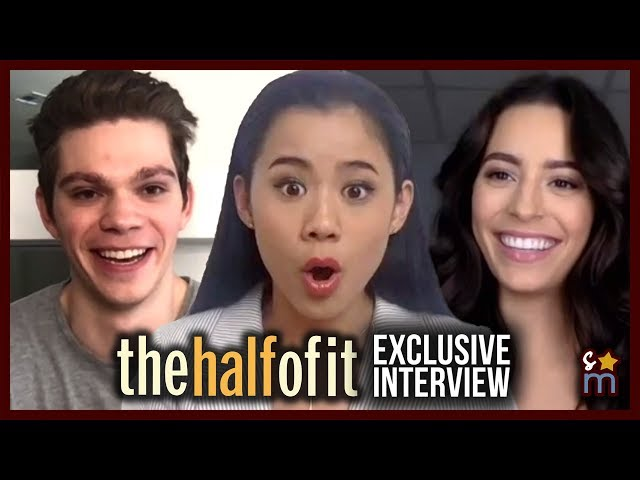 THE HALF OF IT Cast Talk Fan Reaction & Love Letters | Leah Lewis, Alexxis Lemire, Daniel Diemer