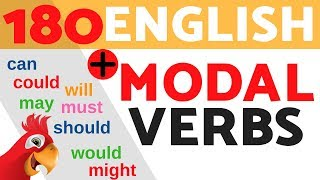 Learn ALL English MODAL VERBS & HELPING VERBS ||| Speak English Fluently ||| TO BE/CAN/ COULD...