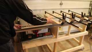 Table Saw Extension Cabinet Part 1