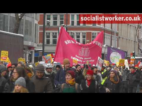 Defend education march for pensions and pay