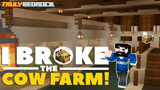 I BROKE The Cow Farm! #BLAMEPROWL | TrulyBedrock SMP | S1:Ep26