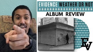 EVIDENCE PLEASE DON'T TAKE THIS DOWN - ALBUM REVIEW - Weather or Not