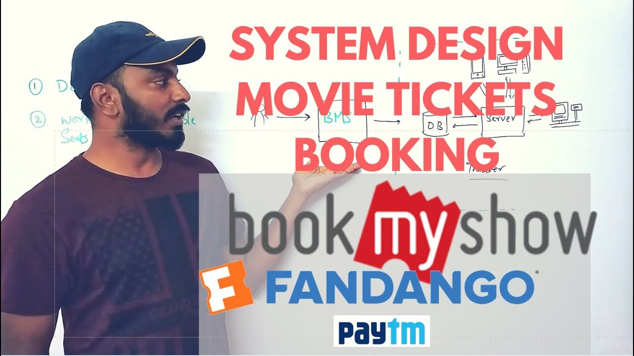 Bookmyshow System Design Fandango System Design Software Architecture For Online Ticket Booking Youtube