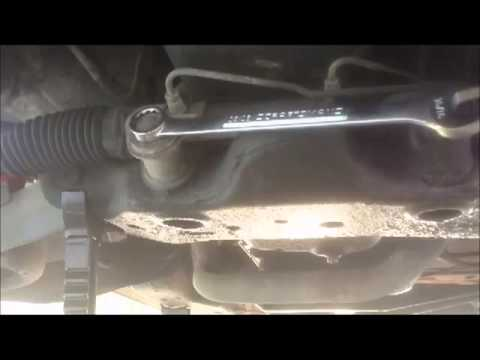 How To Replace A Power Steering Rack And Pinion Part 1 Removal