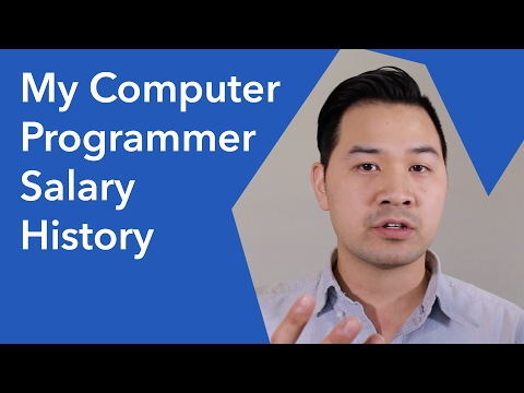 My Full Time Computer Programmer Salary History (Software De