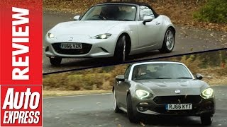 Mazda MX-5 vs Fiat 124 Spider: can Fiat out-Mazda the Mazda?