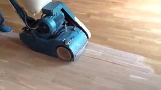 Реставрация шлифовка паркета(Купить напольные покрытия можно в магазине http://a-parket.com/, 2014-06-08T10:52:32.000Z)