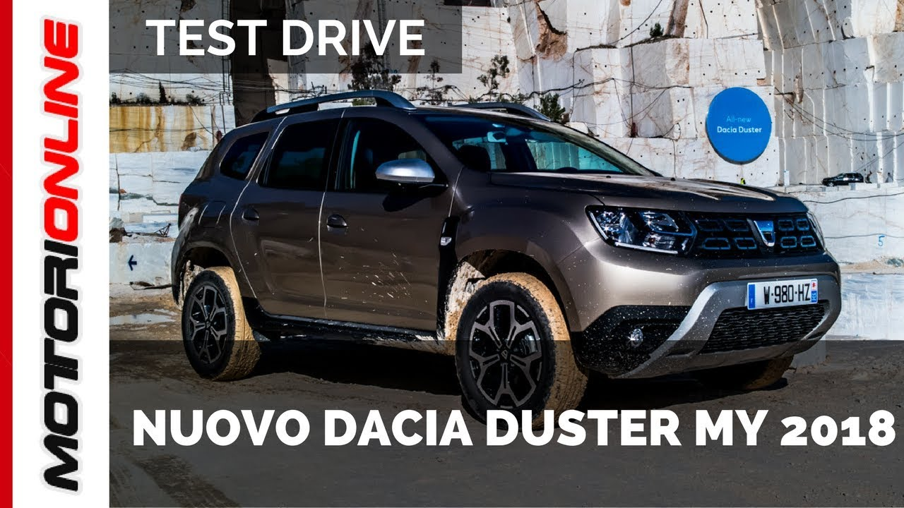 nuovo dacia duster my 2018 anteprima test drive youtube. Black Bedroom Furniture Sets. Home Design Ideas