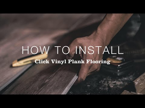 Install Click Vinyl Plank Flooring