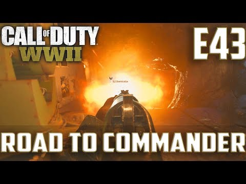Call Of Duty World War 2(RTC)PS4 Ep.43-TDM On Flak Tower,Gibraltar(Type 100 Gameplay)