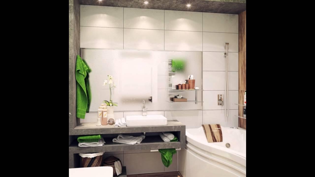 Grun Weiss Kleine Badezimmer Ideen Youtube