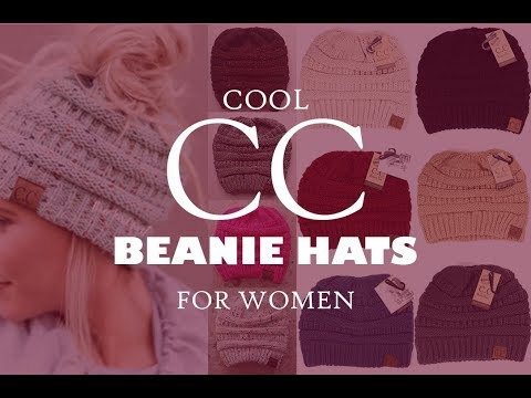 Top 10 Cool CC Beanie hats for Women - Cool Beanies, Toques