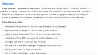 SEO Manager Sample Resume Format Download